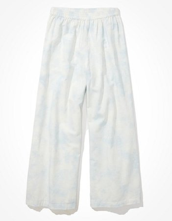 AE Wide Leg Pant white