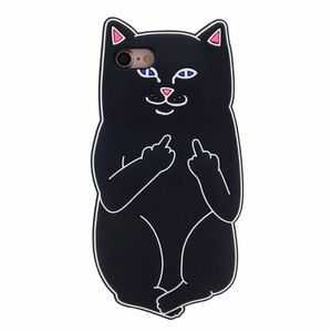 Ripndip Cat With Middle Finger Iphone 66s Case | Poshmark