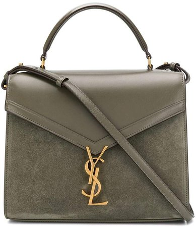 monogram plaque shoulder bag