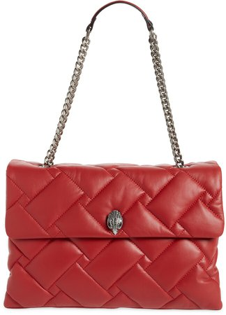 XXL Kensington Soft Quilted Leather Shoulder Bag