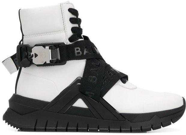 B Troop high-top sneakers