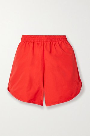 Shell Shorts - Red
