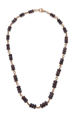 Sylva & Cie 14K Rose Gold and Opal Necklace