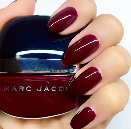 Elegant lovely color dark red '   art, red e nails