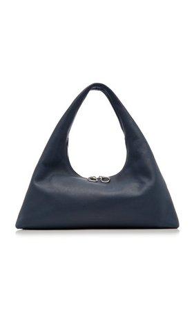 Enzo Oversized Leather Shoulder Bag By Staud   Moda Operandi
