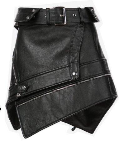 Alexander wang belted mini skirt