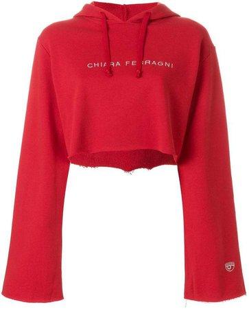 elongated sleeve hoodie