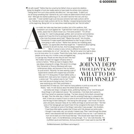 Magazine Text