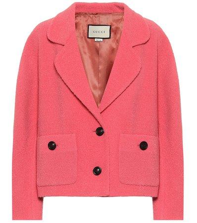 Tweed Wool-Blend Jacket | Gucci - Mytheresa
