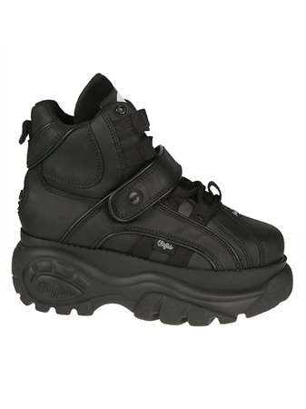 Buffalo 1348 Hi-top Platform Sneakers