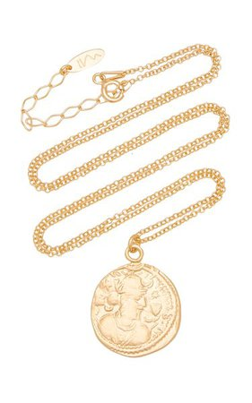 Dua 18k Gold-Plated Necklace By Maison Irem | Moda Operandi
