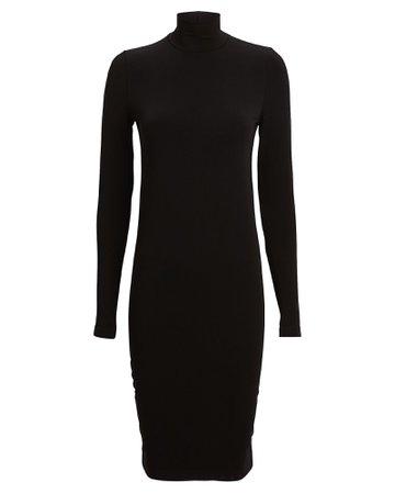 Wolford | Aurora Jersey Turtleneck Dress | INTERMIX®