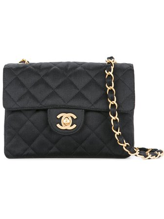 Chanel Vintage Small Flap Shoulder Bag - Farfetch