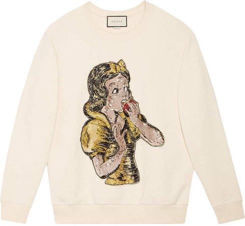 Sequin Snow White sweatshirt