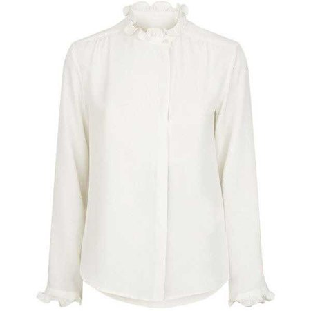 Weekend Max Mara Arten Ruffle Neck Blouse