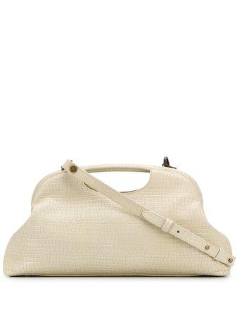 Officine Creative Embossed croc-effect Clutch Bag - Farfetch