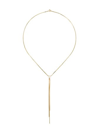 Iosselliani 9kt Yellow Gold River Pearl Necklace - Farfetch