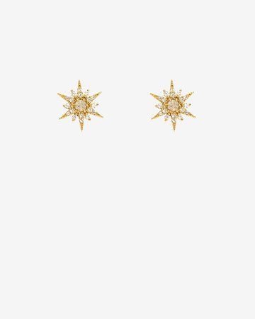 Tai Labradorite Stone Starburst Earrings | Express