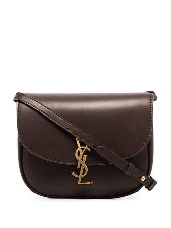 Saint Laurent Kaia Logo Shoulder Bag - Farfetch