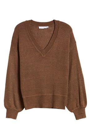 All in Favor Deep V-Neck Sweater | Nordstrom