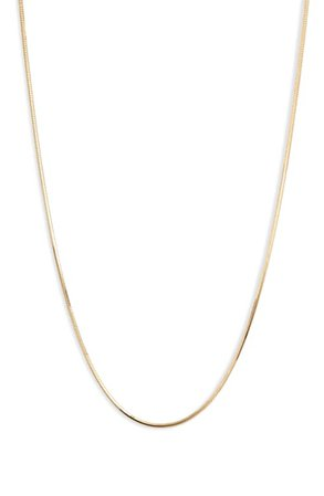 Argento Vivo Tuscany Sterling Chain Necklace | Nordstrom