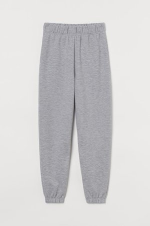 Joggers - Gray melange - Ladies | H&M US