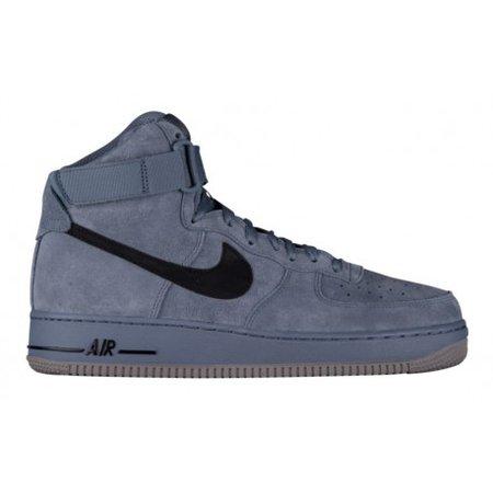 black-high-top-nike-air-force-1-Nike-Air-Force-1-High-Mens-Basketball-Shoes-Armory-Blue-Black-Dust-sku-15121415.jpg (458×458)