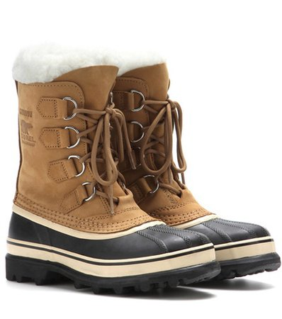Caribou® leather and rubber boots