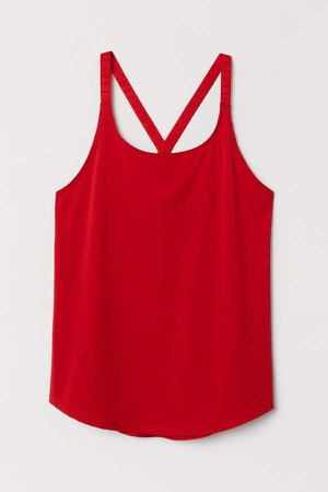 Sports Tank Top - Red