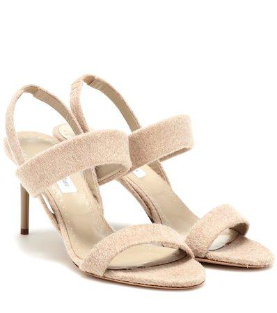 Paula 2 cashmere sandals
