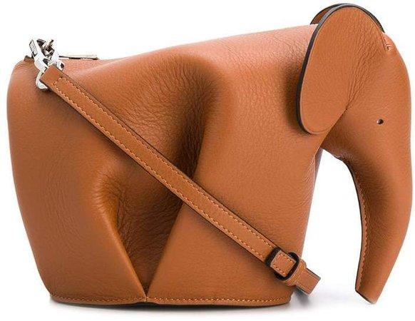 elephant cross-body bag