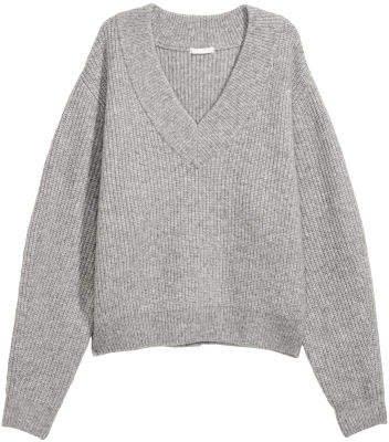 Knit Sweater - Gray