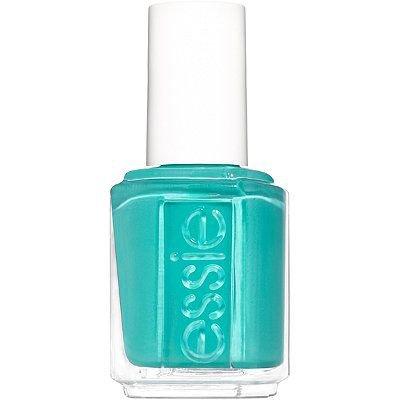 Turquoise essie nail polish