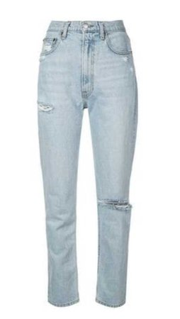 REFORMATION stevie distressed jeans