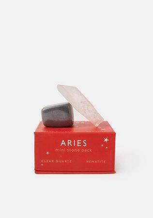 Aries Zodiac Mini Stone Pack   Dolls Kill