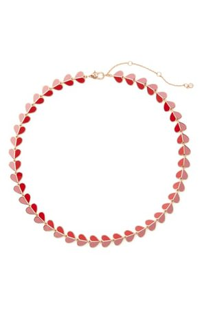 kate spade new york heritage spade heart collar necklace | Nordstrom