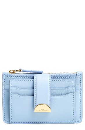 The Marc Jacobs Leather Card Case | Nordstrom