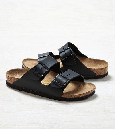 Black Strap Birkenstock Sandals