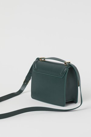 Shoulder Bag - Dark green - Ladies | H&M CA