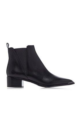 Jensen Leather Chelsea Boots By Acne Studios   Moda Operandi