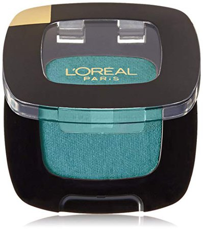 Amazon.com : L'Oreal Paris Makeup Colour Riche Monos Gel-to-Powder Eyeshadow, 213 Teal Couture (Shimmer), 0.12 oz. : Beauty
