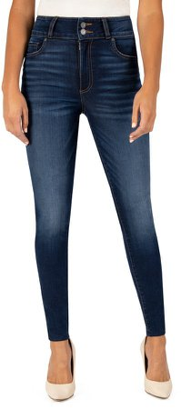 Mia High Rise Toothpick Skinny Jeans