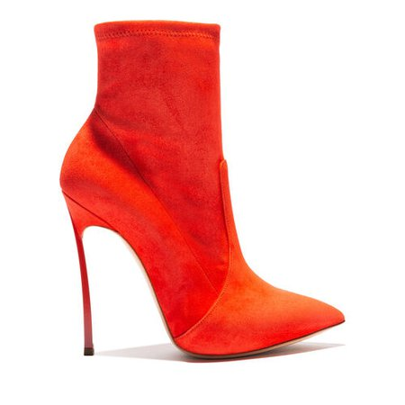 Casadei Blade Ankle Boots Cyber Red