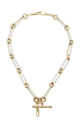 Dudley VanDyke Kristopher 14K Gold And Sterling Silver Necklace