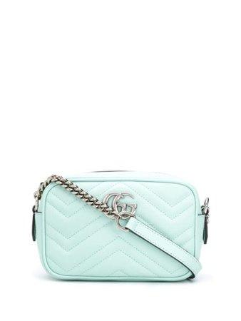 Green Gucci GG Marmont mini bag - Farfetch