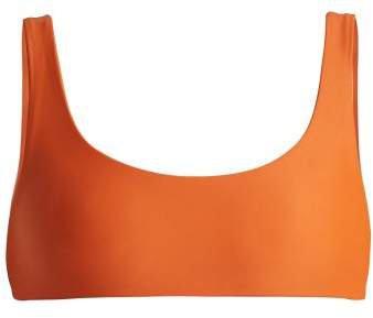 Rounded Edges Bikini Top - Womens - Orange