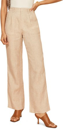 Cello Wide Leg Linen Pants