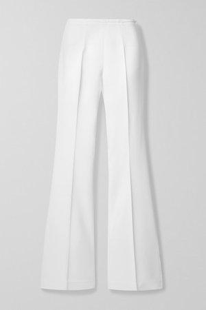 Michael Kors Collection | Stretch-crepe flared pants | NET-A-PORTER.COM