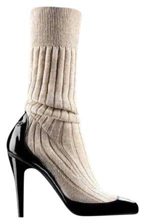 chanel sock heels - Google Search