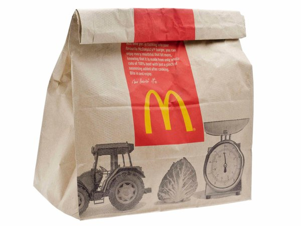 mcdonalds bag - Google Search